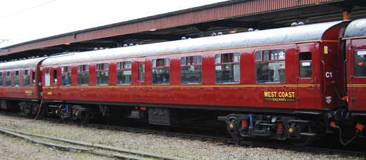 West Coast Railways have a large fleet of ex BR Mk1 coaches.